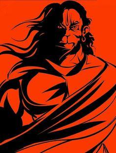 God Hanuman images and wallpaper of lord Hanumanji - Images Of DP Hanuman Jayanthi, Hanuman Photos, Hanuman Images, Hanuman Tattoo, Hanuman Ji Wallpapers, Shiva Hindu, Hindu Art, Lord Shiva Hd Wallpaper, Ganesh Wallpaper