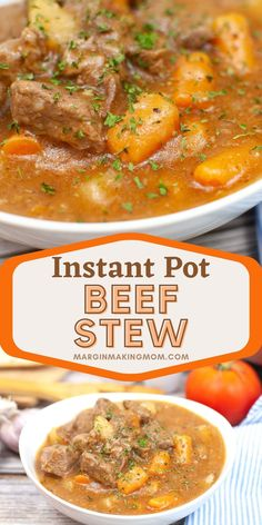 Pressure cooker beef stew is a hearty weeknight meal that can be prepared in a fraction of the typical time! Tender chunks of beef and vegetables cook quickly, thanks to the Instant Pot! Pressure Cooker Beef Stew, Instant Pot Pressure Cooker, Pressure Cooker Recipes, Food Dishes, Main Dishes, Weeknight Meals, Quick Easy Meals, Dinner Recipes, Stuffed Peppers