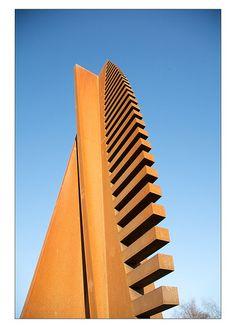 Detail From Nigel Hall's Corten Steel Sculpture 3. (Mark-Crossfield, via Flickr).
