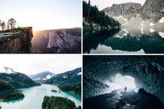 Sam Elkins Photography  Le photographe américain Sam Elkins voyage à travers les paysages montagneux, les routes infinies et les lacs d'Amérique. Ses clichés révèlent toute la force et la beauté de la nature, avec ou sans brume, avec ou sans sujet au coeur de l'image. Une sélection de son travail est à découvrir dans la galerie.