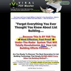 [GET] Download Viral PDF Master Bonus! : http://inoii.com/go.php?target=vpdfhooke