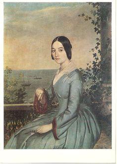 Т.А.Нефф. Женский портрет