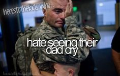 Can't say I've ever seen my dad cry