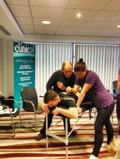 CORE body fascia release course presented by world renowned therapist Noah Karrasch, hosted by Clinic-al at the Ramada hotel, Southport. 9th - 11th Nov 2013