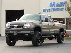 2006 Chevrolet Silverado 2500 LT 4X4 6.6L Duramax Diesel / LBZ / LIFTE Diesel Vehicles, Diesel Cars, Diesel Trucks, New Trucks, Lifted Trucks, Chevy Trucks, 2004 Chevy Silverado, Chevy Duramax, Truck Accesories