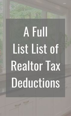 Whether you identify as a small business owner, solopreneur or creative, it's challenging to find a list of small business creative tax deductions! Real Estate Business Plan, Real Estate Career, Real Estate Tips, Selling Real Estate, Real Estate Sales, Real Estate Investing, Real Estate Marketing, Online Marketing, Tax Refund