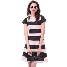 Sassafras Women's A-Line Dress (SFDRSS1020S_Orange_Small)