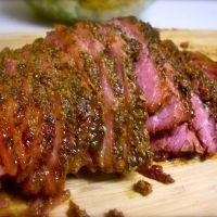 roasted corned beef brisket...drool