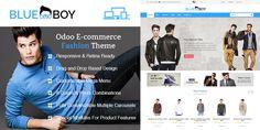 BlueBoy Men Fashion Theme for Odoo v8 Ecommerce
