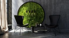 Our moss wall panels are made with preserved plants & natural materials for stunning biophilic interior design. From large commercial moss walls to individual moss wall frames. Moss Wall Art, Moss Art, Wall Art Decor, Vertical Garden Design, Vertical Gardens, Pentagon Design, Hanging Succulents, Succulent Planters, Plant Wall