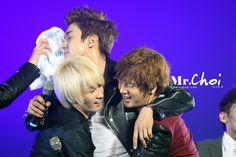 Yesung, Siwon and Eunhyuk ^__^