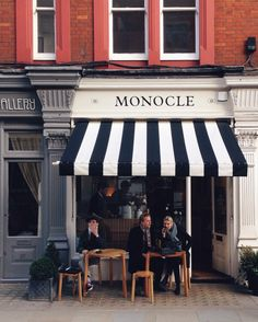 Monocle Café in London / photo by Margot van der Krogt
