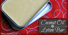 How To Make Lotion Bars – Only 3 ingredients! – The Coconut Mama