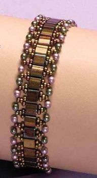National #CraftMonth Project of the Day and #Giveaway: Tila Temptation Bracelet. #tutorial
