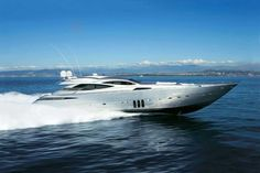 The Pershing #Yacht 115: