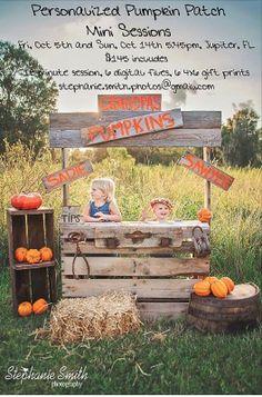 Cute fall mini session idea    Photo by: Stephanie Smith Photography