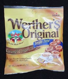 5 Bags Werther's Original Caramel Coffee Hard Candies Exp August 31, 2016