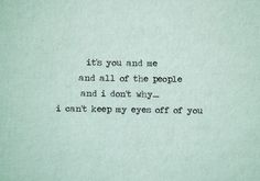 """""""You and Me"""" - Lifehouse"""