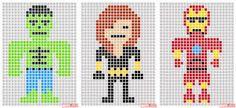 Image result for pixel art avengers