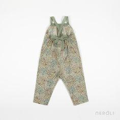 Pantalón mono estampado para niña de Babe & Tess. #girl #trousers #fashion #NeroliByNagore #SS14 #BabeAndTess