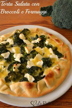 Torta Salata con Broccoli e Formaggi