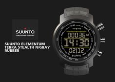 New Suunto Elementum Terra Stealth
