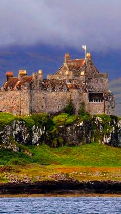 Duart Castle in Isle of Mull, Scotland