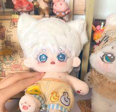 Kawaii Plush, Cute Plush, Pretty Dolls, Cute Dolls, Diy Room Decor For Teens, Body Drawing Tutorial, Plushie Patterns, Cute Kawaii Animals, Anime Crafts