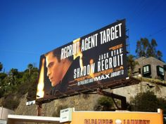Jack Ryan: Shadow Recruit movie billboard