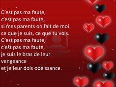 Roméo et Juliette - C'est pas ma faute - Lyrics