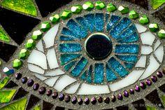 Dragoneye - Cherie Bosela - Fine Art Mosaics & Photography -