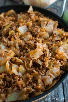 Deconstructed Stuffed Cabbage - A simple and delicious dinner any day of the week!