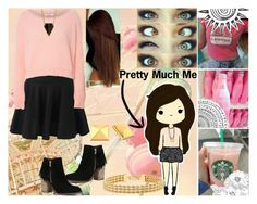 """""""Cute and Pink"""" by andreab6 on Polyvore"""