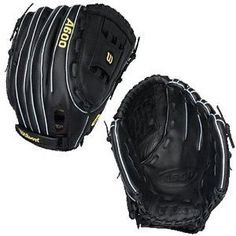 """Wilson A600 12.5-Inch Fast Pitch Fielder's Glove (Right Hand Thrower) by Wilson. $52.95. The Wilson® A600™'s patterns and construction deliver a great-fitting glove. The 12.5"""" all-positions fastpitch softball glove features Dual-Welting™ and a full-grain leather palm, web and shell, giving you big-league features at an excellent price."""