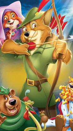 *ROBIN HOOD, God of war has been around for a long long time Disney And More, Disney Love, Disney Frozen, Disney Magic, Disney Cartoon Characters, Cartoon Movies, Disney Cartoons, Robin Hood 1973, Robin Hood Cartoon