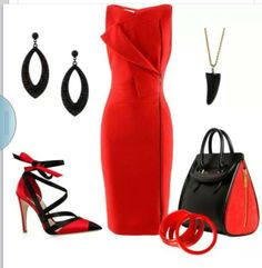 Red & Blk