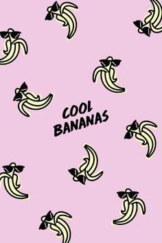 Cool Bananas  Download and edit your own pins in Over today. #madewithover