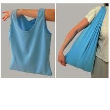 """Een leuke en handige """"hemd-tas"""" maken van een hemdje of topje"""