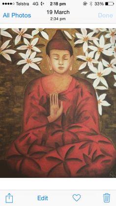 My Buddha art!!