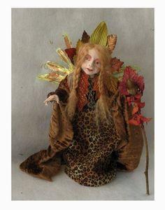 Roweena Autumn Sorceress Fairy Art Doll  http://cgi.ebay.com/ws/eBayISAPI.dll?ViewItem=160907781939