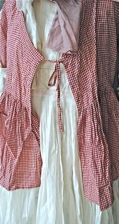 Some things look beautiful in red and white check...