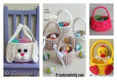 There are so many crochet Easter Basket patterns out there, we've compiled a list of wonderful Crochet Easter Basket Free Patterns to share with you.