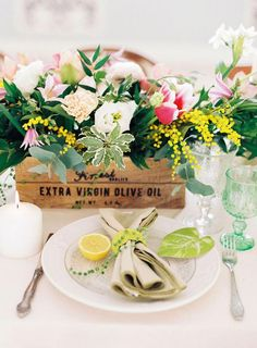 These Bright & Beautiful Tables Will Make You Wish Spring Could Last Forever - Wilkie Blog!