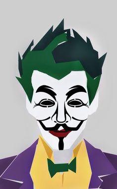 V For Vendetta Comic, Joker, Comics, Anonymous, Fictional Characters, Art, Art Background, Kunst, The Joker