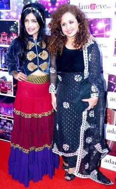 Shibani Kashyap and Vandana Sajnani at the Globoil India Awards 2013 #Bollywood #Fashion #Style