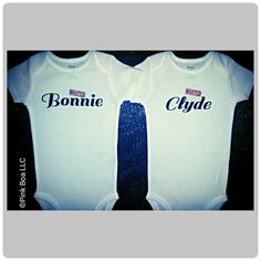 Funny Twin Baby Clothes Funny Twin Shirts by LivAndCompanyShop, $26.00