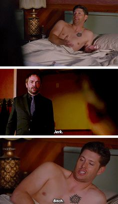 [gifset] ITunes Promo- SPN Spoilers - 10x01 Black #SPN #DemonDean. I hated this!! Ouch. Thanks writers :(