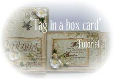 "StampARTic: ""Tag i en kasse card"" - Tutorial"