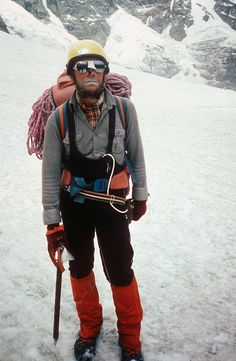 Jerzy Kukuczka - Polish alpine and high-altitude climber. On 18 September 1987, he became the second man, after Reinhold Messner, to climb all fourteen eight-thousanders in the world.