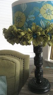 House Revivals: Wild Pants and a Lamp Get a Make-Over!